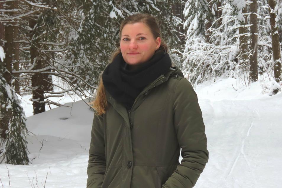 """Katrin Hoffmann ist seit Anfang des Jahres in der Naturzentrale tätig. Sie betreut das Projekt """"Junge Naturwächter"""" in Bautzen."""