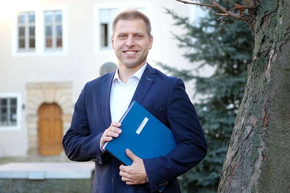 Klipphausens Bürgermeister Mirko Knöfel zieht zum Jahresende eine erste Bilanz.