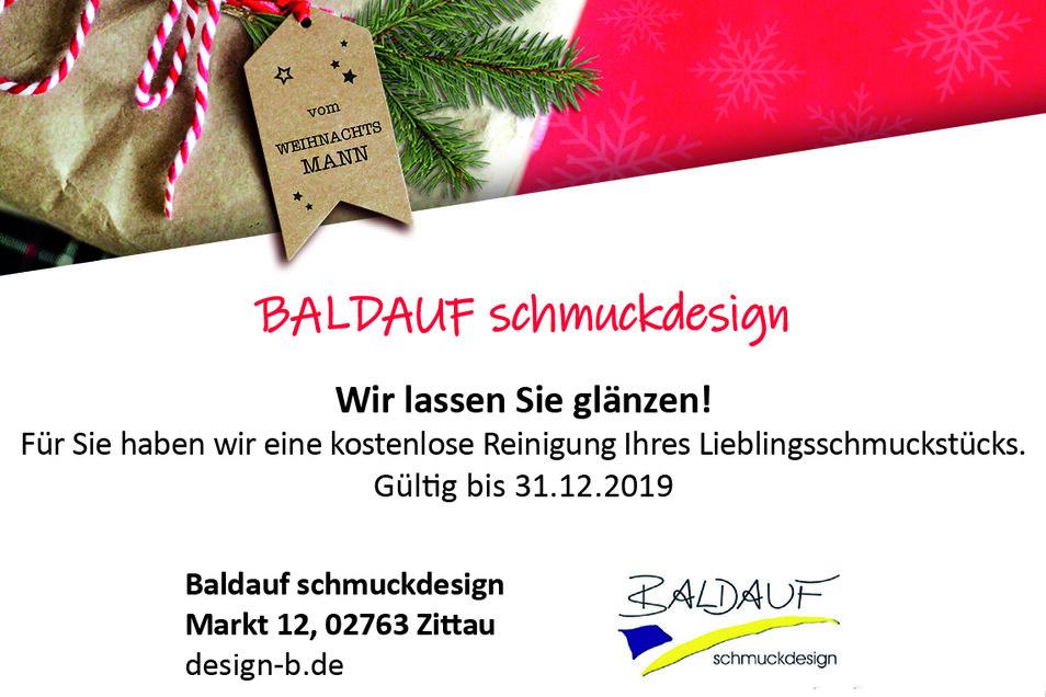 Baldauf schmuckdesign, Markt 12, 02763 Zittau