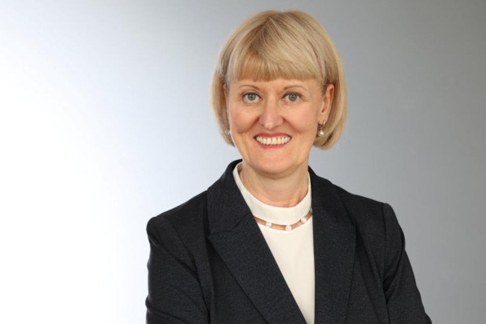 Kathrin Groschwald ist die neue Chefin der Agentur für Arbeit in Bautzen.