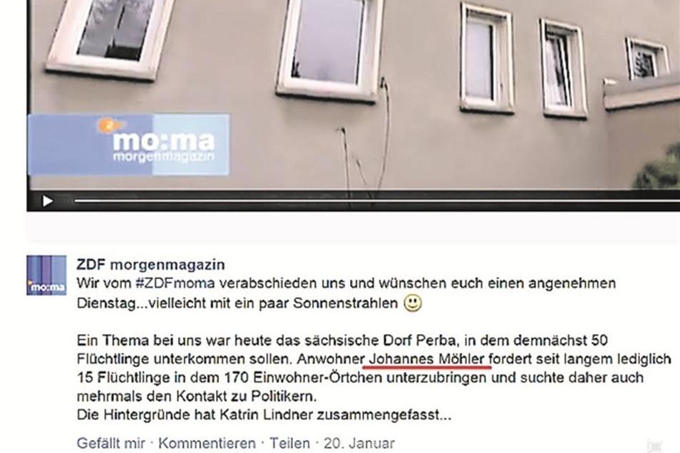 Das ZDF-Morgenmagazin berichtet am 20. Januar.