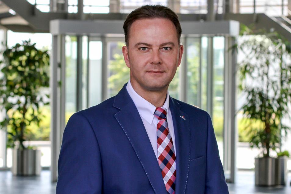 Lars Fiehler ist Geschäftsführer Standortpolitik und Kommunikation der IHK Dresden. In dieser Funktion beobachtet er auch die Auswirkungen der Corona-Krise sehr genau.