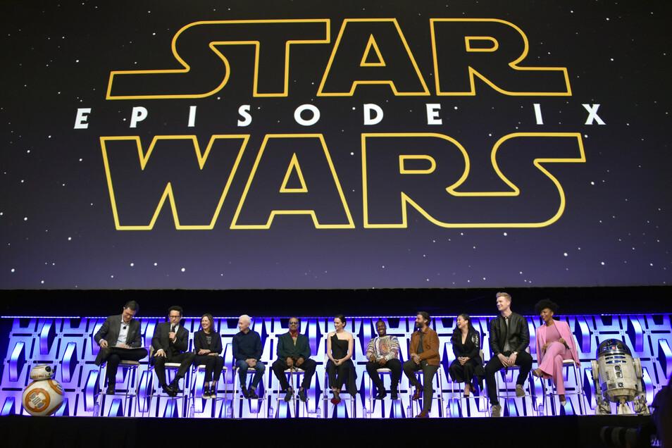 Der Cast von Star Wars.