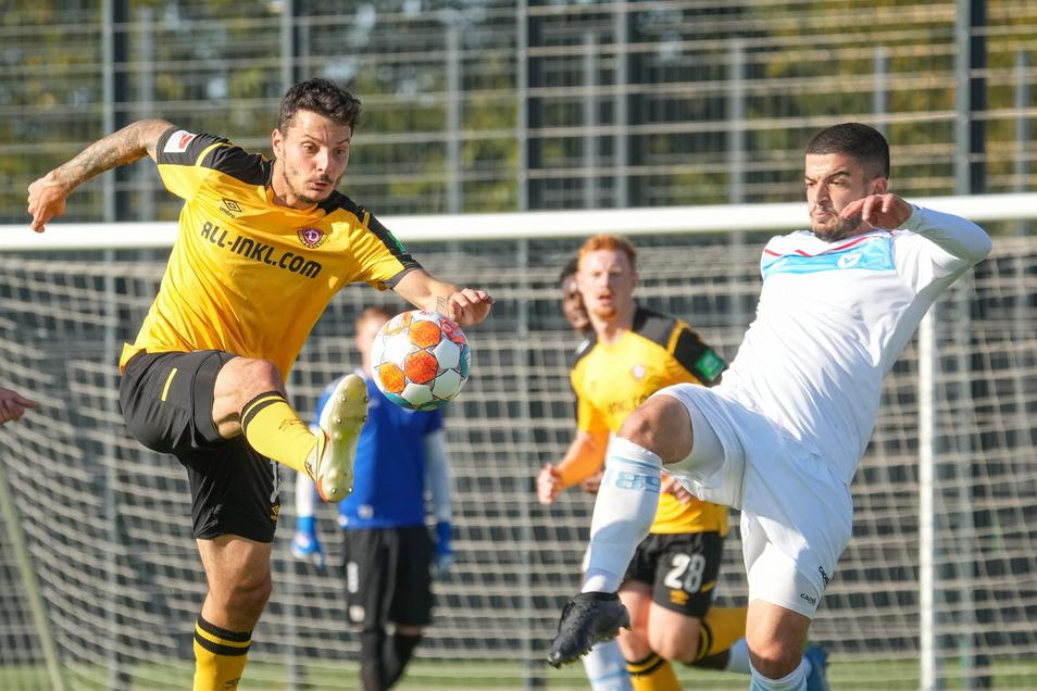 Philipp Hosiner erzielte das 1:0 für Dynamo im Testspiel gegen den Drittligisten Viktoria Berlin.