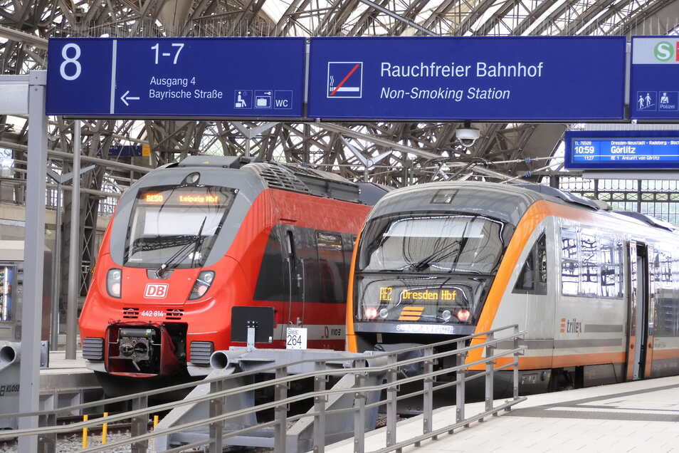 Trilex-Züge aus Dresden können vielleicht doch schneller als erwartet durchfahren nach Polen.