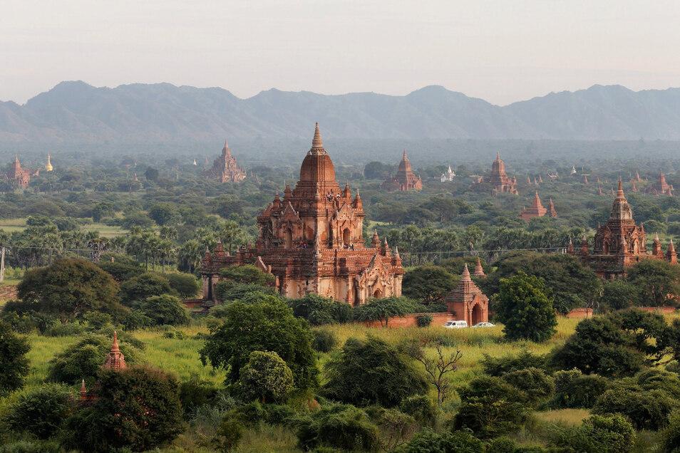 Die alte Königsstadt Bagan.