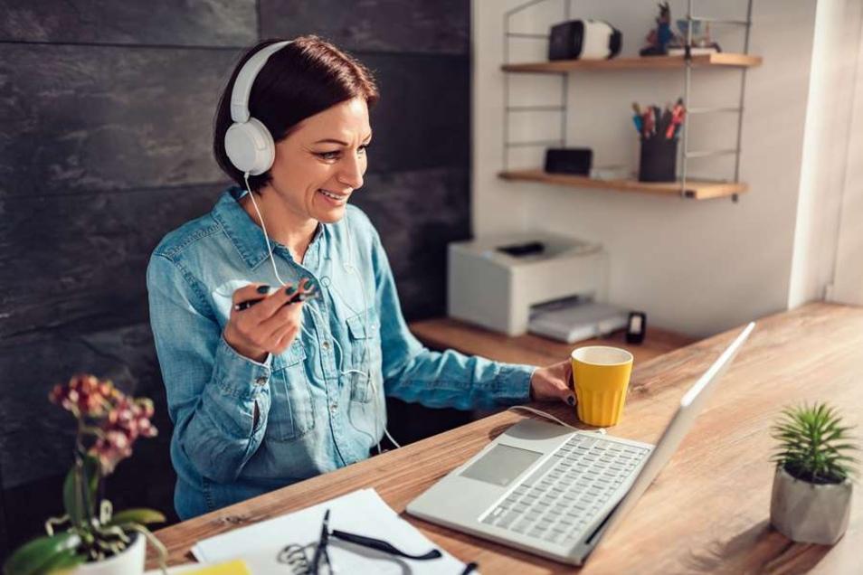 Wichtig in Corona-Zeiten: Berufliche Umschulungen können auch im virtuellen Klassenzimmer absolviert werden.