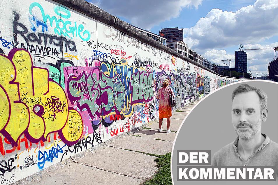Für Nachgeborene ist der Mauer-Irrsinn schwer zu begreifen, meint Sächsische.de-Redakteur Marcus Thielking.