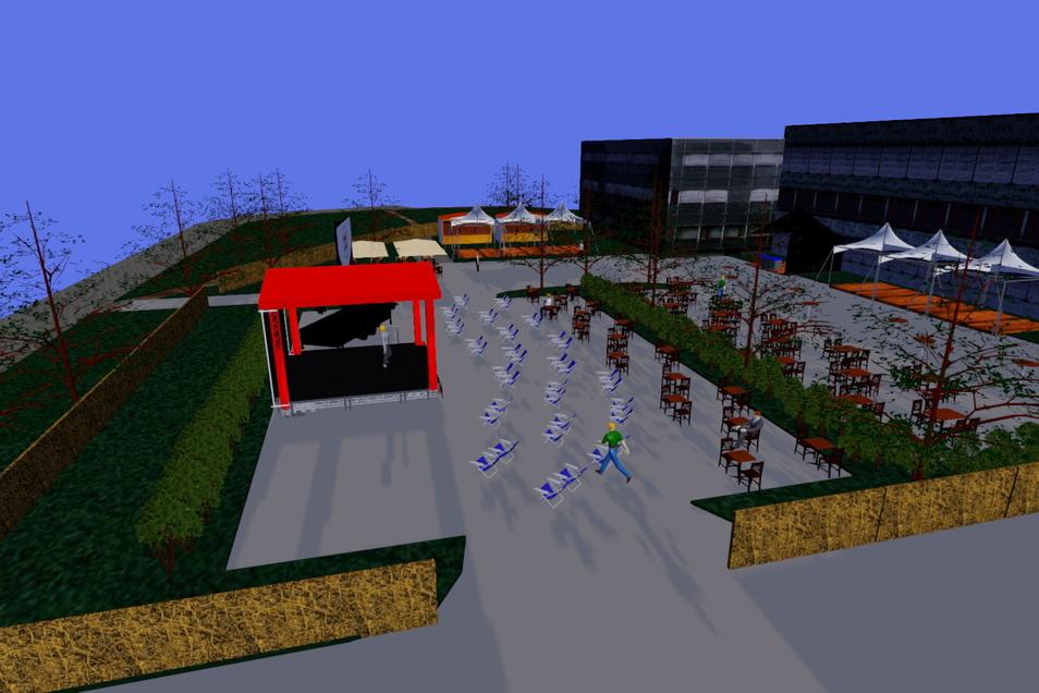 Neues Format, neuer Ort: Am Haus der Presse startet noch im Juni der Augusto Sommergarten.