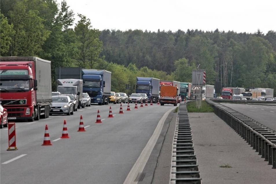 Verkehr Auf Der A4