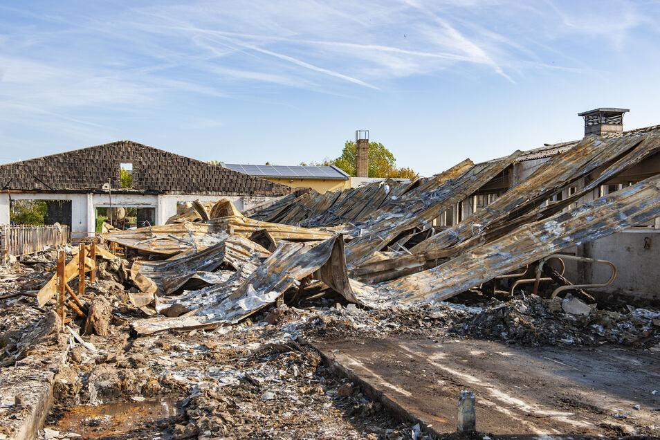 Der Sommer war heiß und sorgte für zahlreiche Brände. So auch in Skäschen.