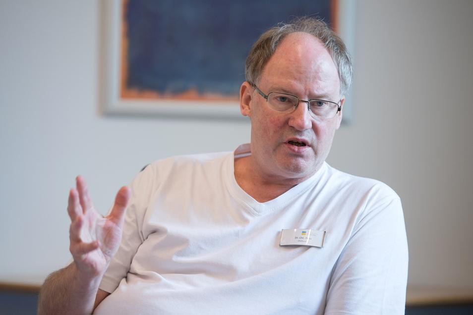 Christoph Preu, Chefarzt der Klinik am Teutoburger Wald.