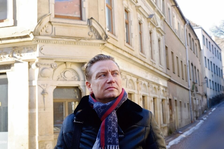 René Sandig, Prokurist des Dresdner Unternehmens Wohnartplus, will mit seinem Geschäftspartner in das Areal der alten Druckerei 56 barrierearme Wohnungen einbauen lassen. Rund zwölf Millionen Euro soll die Laurentii Residenz kosten.