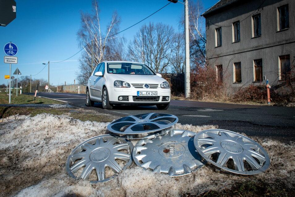 Die Hauptstraße zwischen Waldheim und Hartha ist in einem sehr schlechten Zustand. Wenn Fördermittel fließen, könnte der grundhafte Ausbau dieses Jahr beginnen.