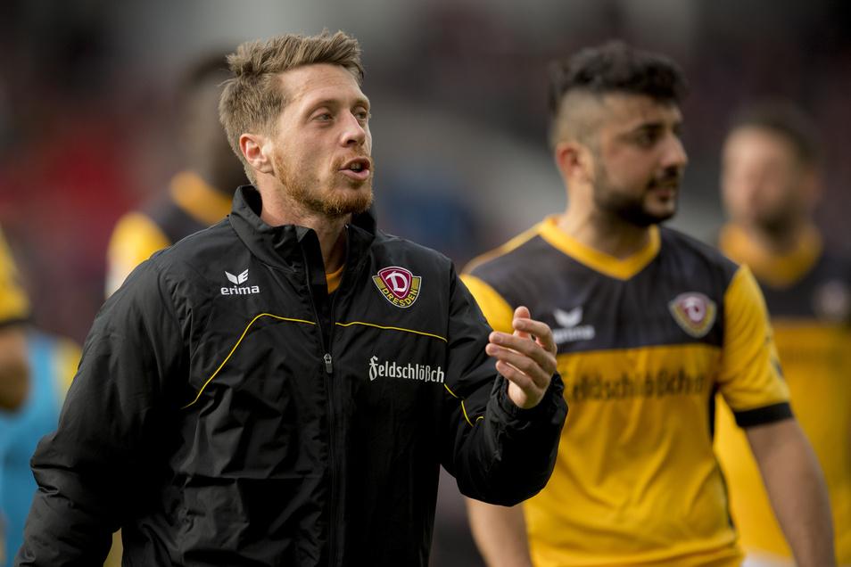 """Andreas """"Lumpi"""" Lambertz hat von 2015 bis 2018 für die SG Dynamo Dresden gespielt."""