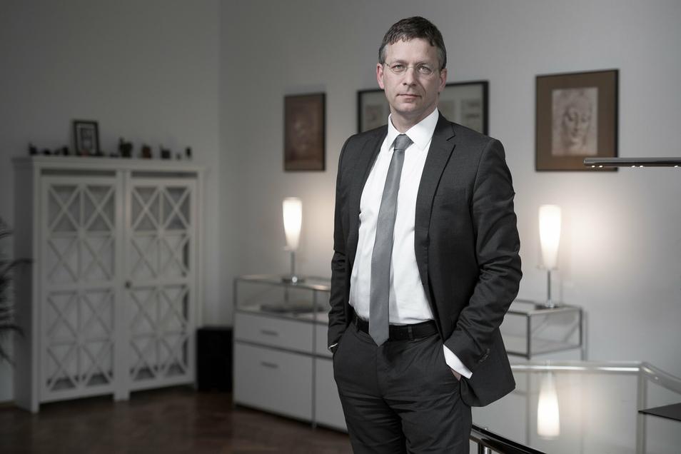 Strafverteidiger Andrej Klein kritisiert eine Berufungskammer des Landgerichts Dresden.