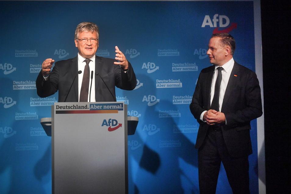 """""""Das ist kein großer Sieg. Das ist aber auch keine fundamentale Niederlage"""", sagte Parteichef Jörg Meuthen."""