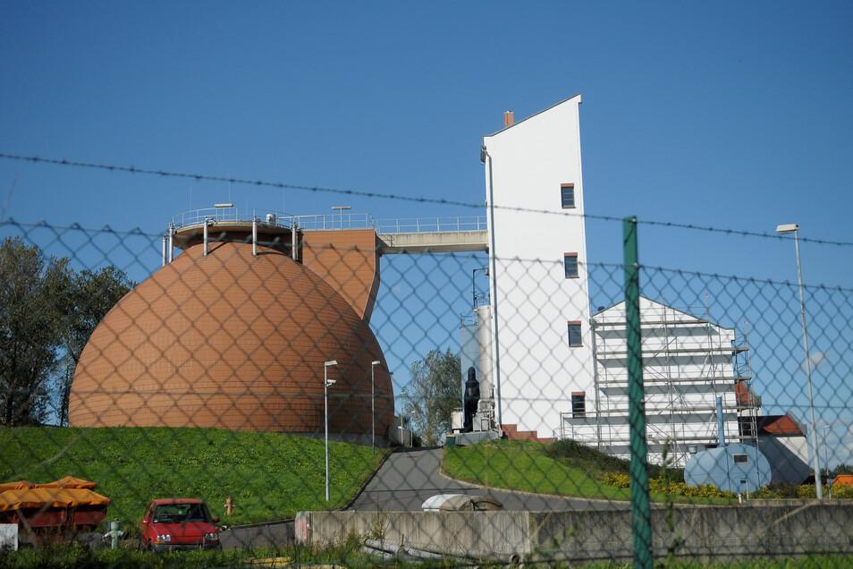 Hier kommen die Görlitzer Abwässer an: im Klärwerk Görlitz.