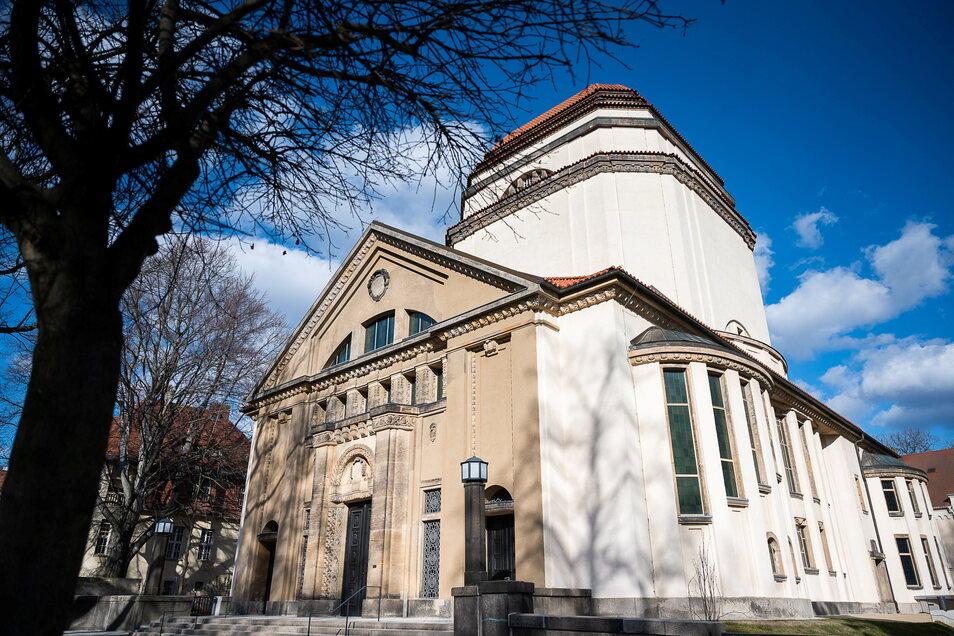 Die ehemalige Synagoge auf der Otto-Müller-Straße in Görlitz steht derzeit noch ohne Davidstern da.