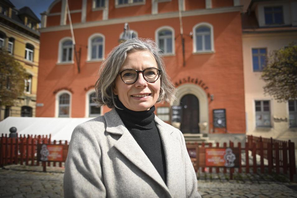 Die Pulsnitzer Bürgermeisterin Barbara Lüke  wollte den Gewerbetreibenden der Stadt die Steuern stunden - doch es kam anders.