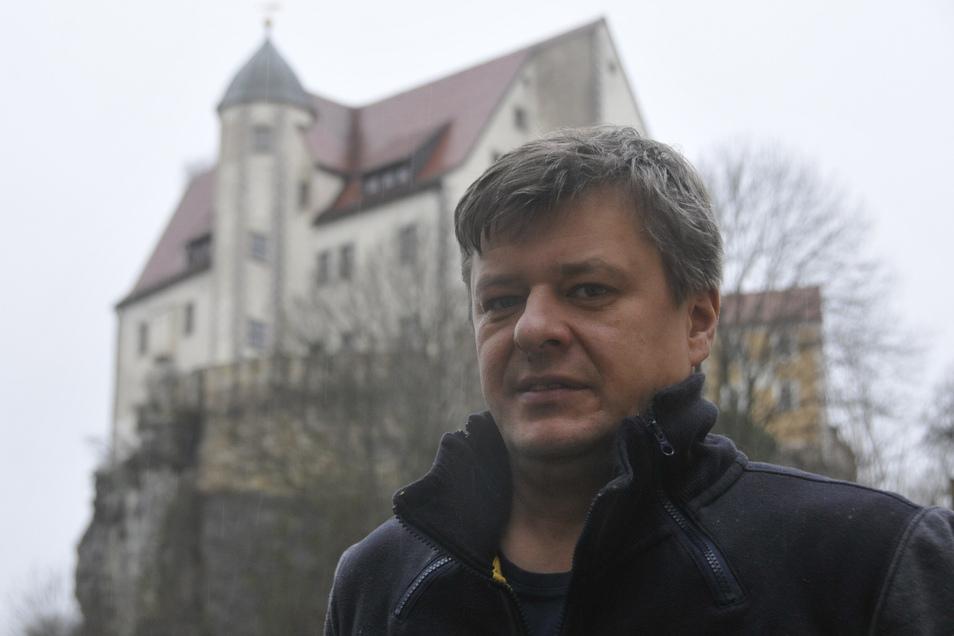 André Häntzschel, Geschäftsführer der Betreibergesellschaft Burg Hohnstein hätte sich ein besseres Ergebnis für 2019 gewünscht.