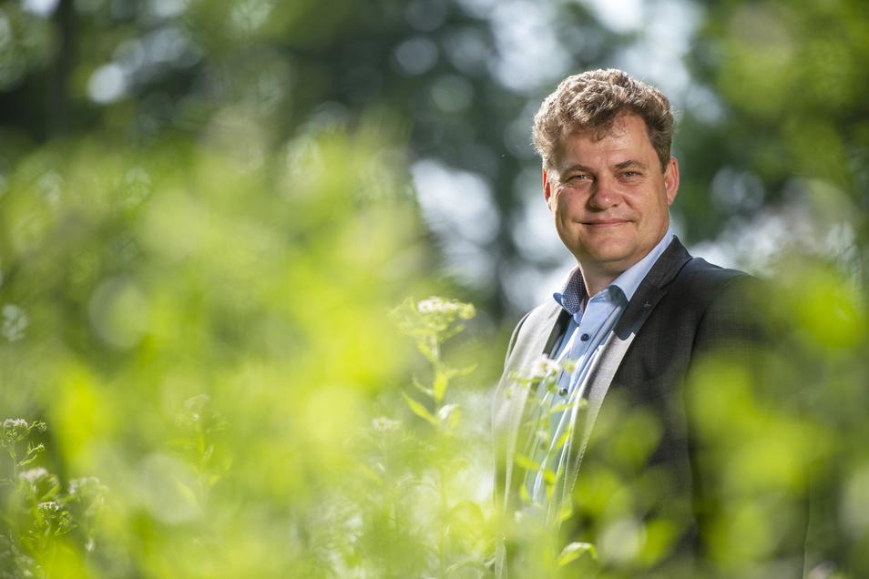 Thomas Schubert, Coswigs Oberbürgermeister, will erreichen, dass die Stadt möglichst viel Geld zurückbekommt.