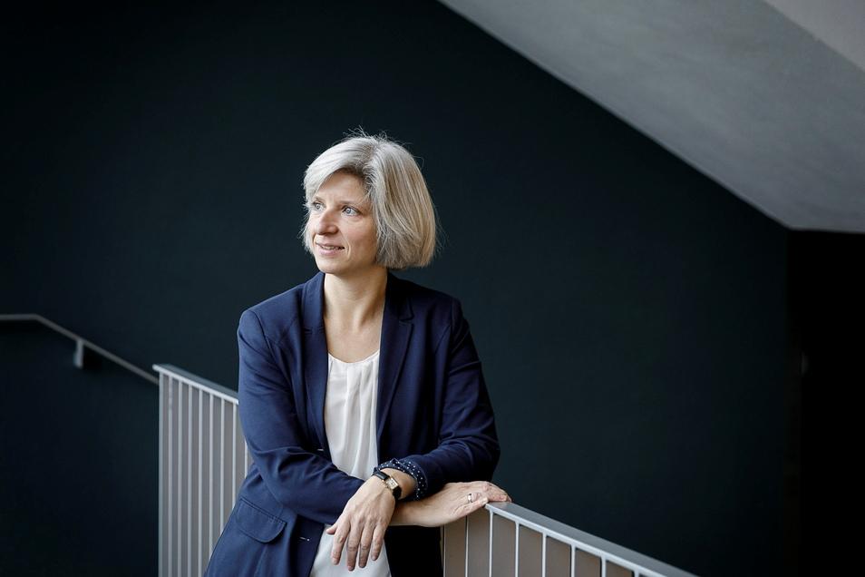 Andrea Eckardt lehrt frühkindliche Bildung an der HSZG. um manche Kinder macht sie sich in der Krise Sorgen.