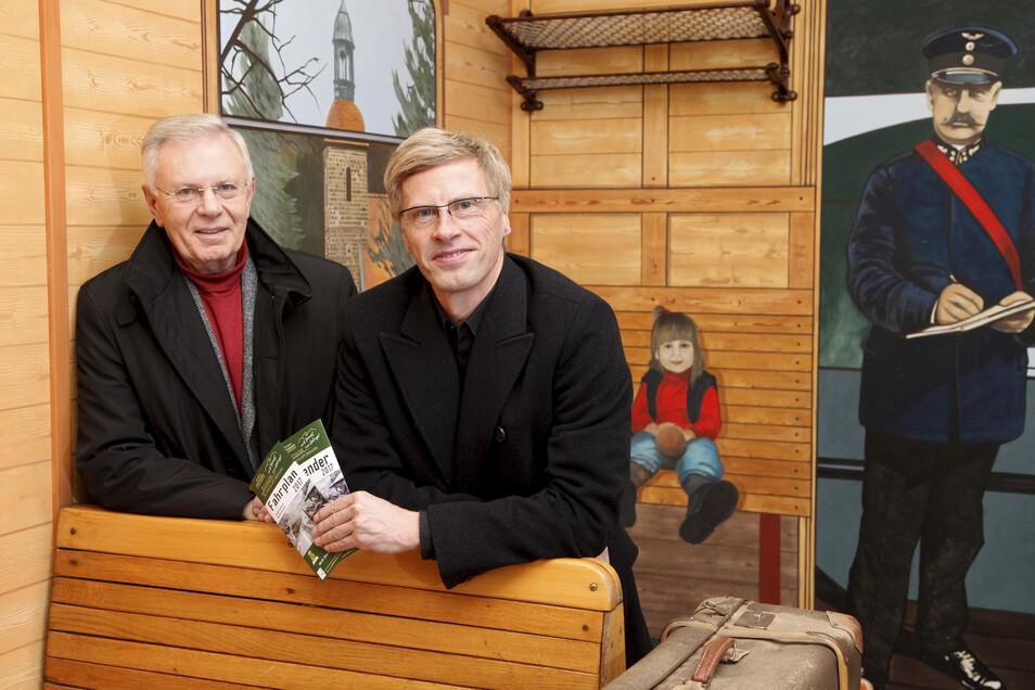 Gerd Arnold (links) an der Seite von Soeg-Geschäftsführer Ingo Neidhardt.