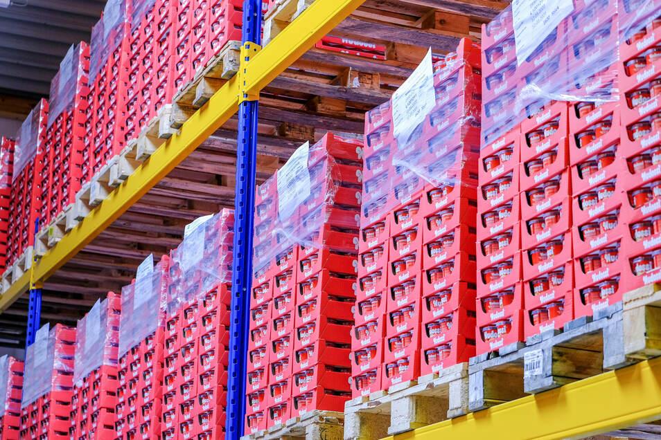 Erst im April ist Nudossi von der Lebensmittel-Zeitung zur Top-Marke 2020 gekürt worden. Der Hersteller der Nussnougatcreme, das Radebeuler Werk der Sächsischen und Dresdner Back- und Süßwaren GmbH, verzeichnet trotz Corona steigende Umsätze.