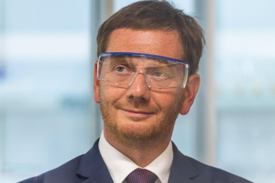 Konnte seine Zustimmungswerte im Vergelich zu letzten Umfrage steigern: CDU-Chef und Sachsens Ministerpräsident Michael Kretschmer.