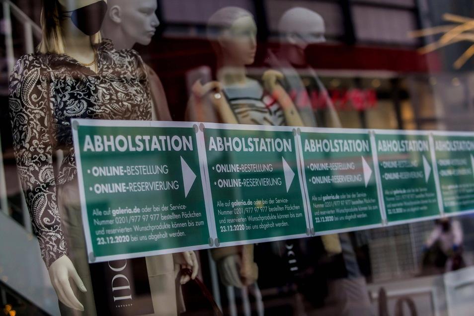 Angesichts zu hoher Infektionszahlen bleibt Click&Collect für Sachsens Einzelhändler vorerst ein frommer Wunsch.