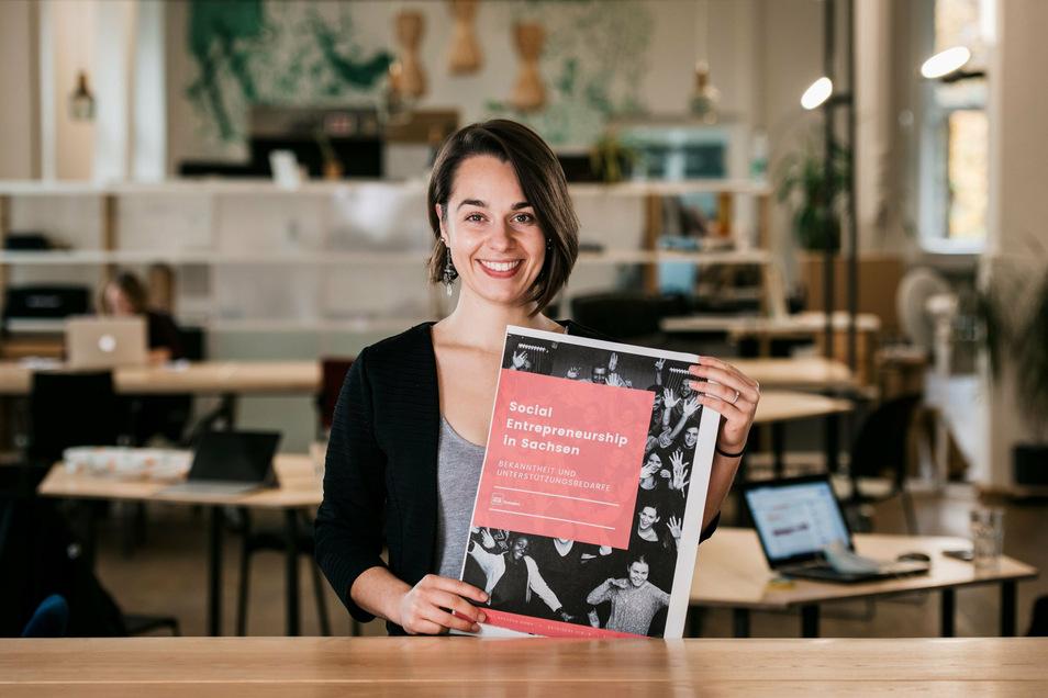 Sophia Kiefl hat sich ganz dem sozialen Unternehmertum verschrieben