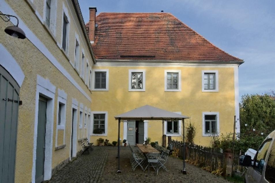 """Das Gästehaus """"Zum Pfarrlehn"""" in Wendishain hat auf die Jury einen prägenden Eindruck hinterlassen."""