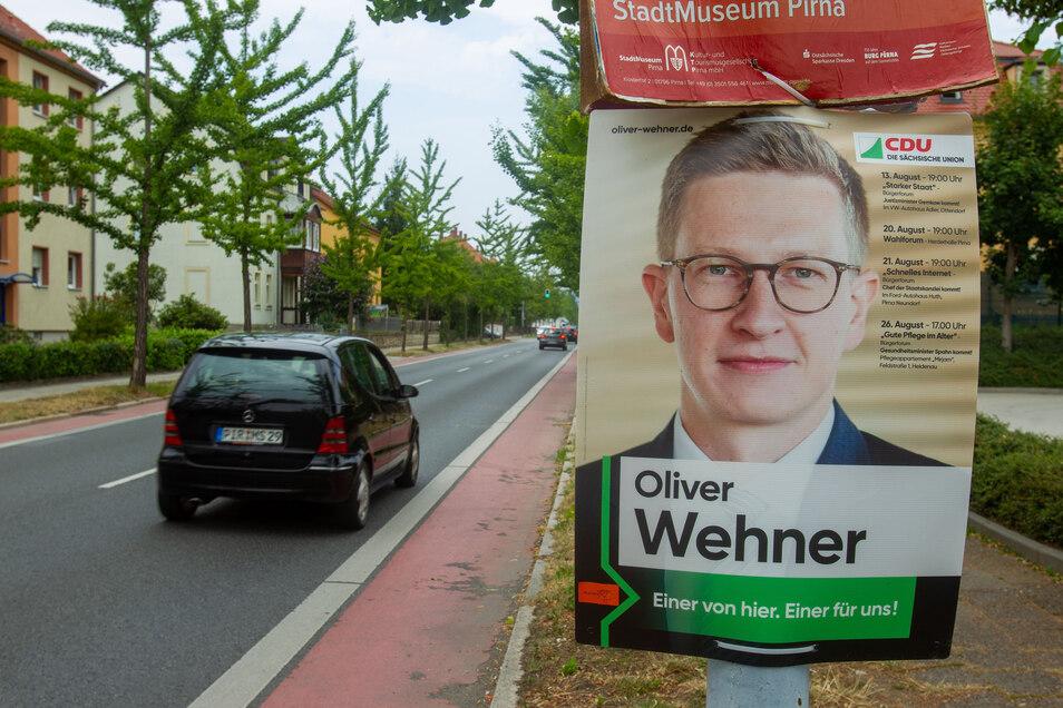 Der Kommunalpolitik bleibt Oliver Wehner als Kreisrat vorerst erhalten.