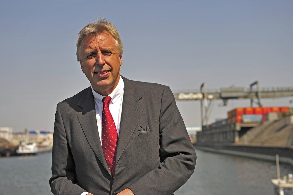 Demnächst im sicheren Hafen der Rente: Erich Staake – ein Mann, der nicht genug bekommen konnte.
