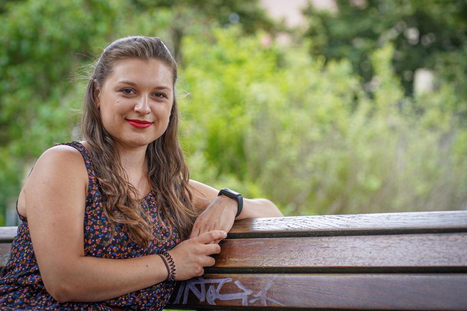 Antonia Herde aus Bautzen erkrankte im Alter von 17 Jahren an Krebs. Heute geht es ihr wieder gut - und sie will anderen Mut machen.