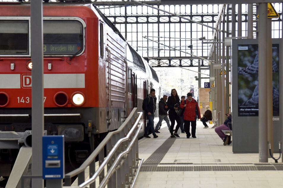 Mit mehr Zügen soll die Westlausitz besser an Dresden angebunden werden.