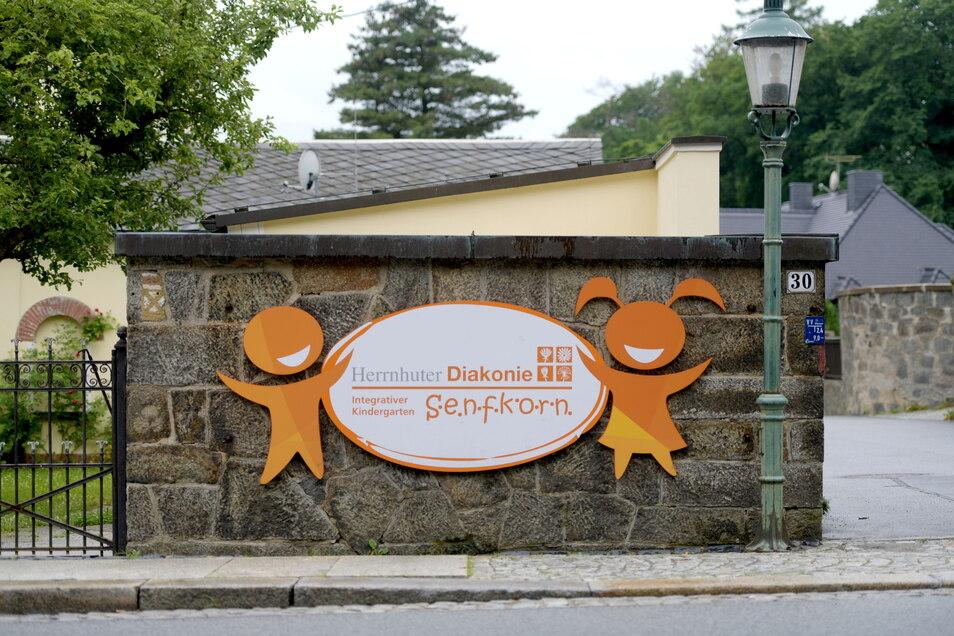 Dass der integrative Kindergarten den Namen Senfkorn trägt, ist bei der Geschichte der Villa naheliegend.