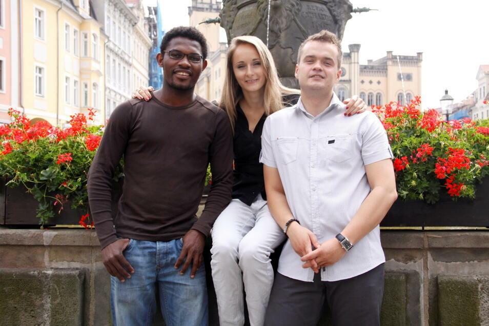 An der Hochschule Zittau/Görlitz und dem Internationalen Hochschulinstitut (IHI) studieren viele junge Ausländer - auch während der Corona-Krise.