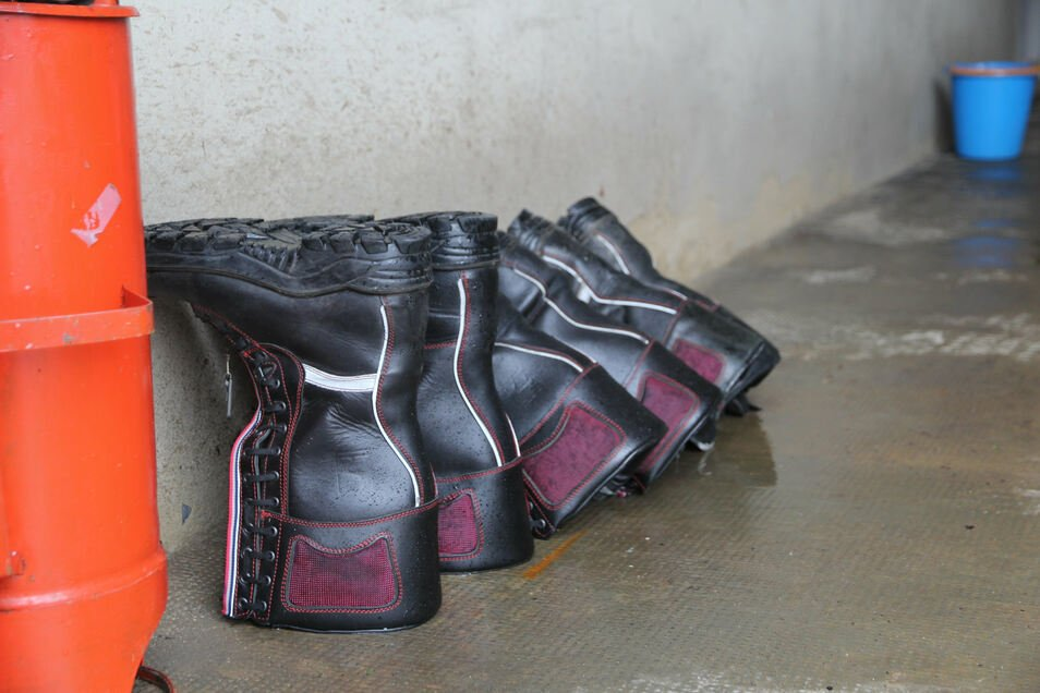 Stiefel gehören zu den Dingen, die in den Ortswehren ersetzt werden müssen.