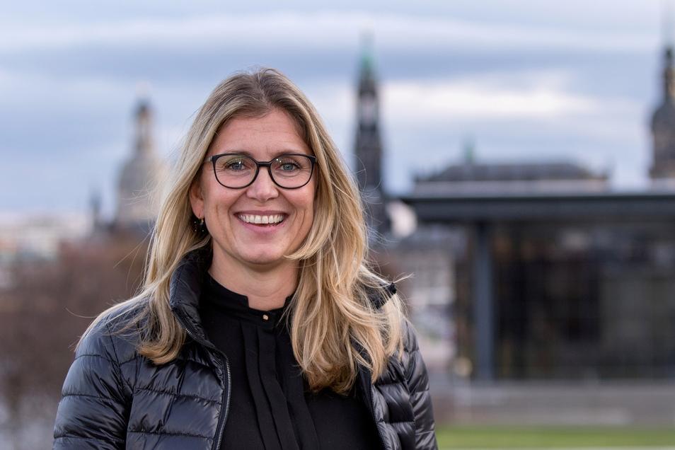 Sylvie Löffler wurde von der Fangemeinschaft in Dynamos Aufsichtsrat kooptiert. Jetzt führt sie die Sitzungsprotokolle.