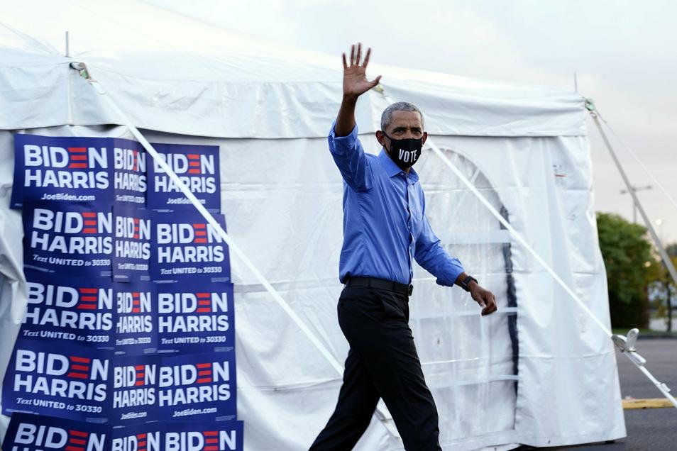 Barack Obama in Phoiladelphia.