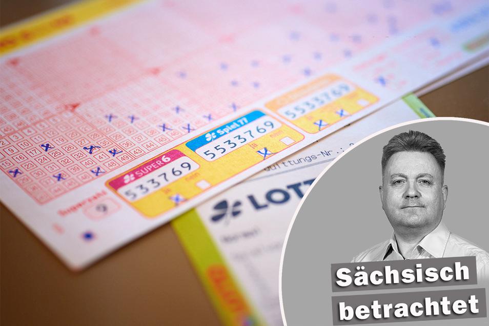 Mit Wahlkreuzen ist es oft wie mit den Kreuzen auf dem Lottoschein: Mit ganz viel Hoffnung gemacht und meistens nichts gewonnen. Foto: WestLotto