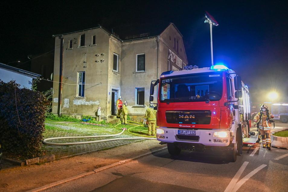 Das Brandhaus muss nun erst einmal von einem Statiker begutachtet werden