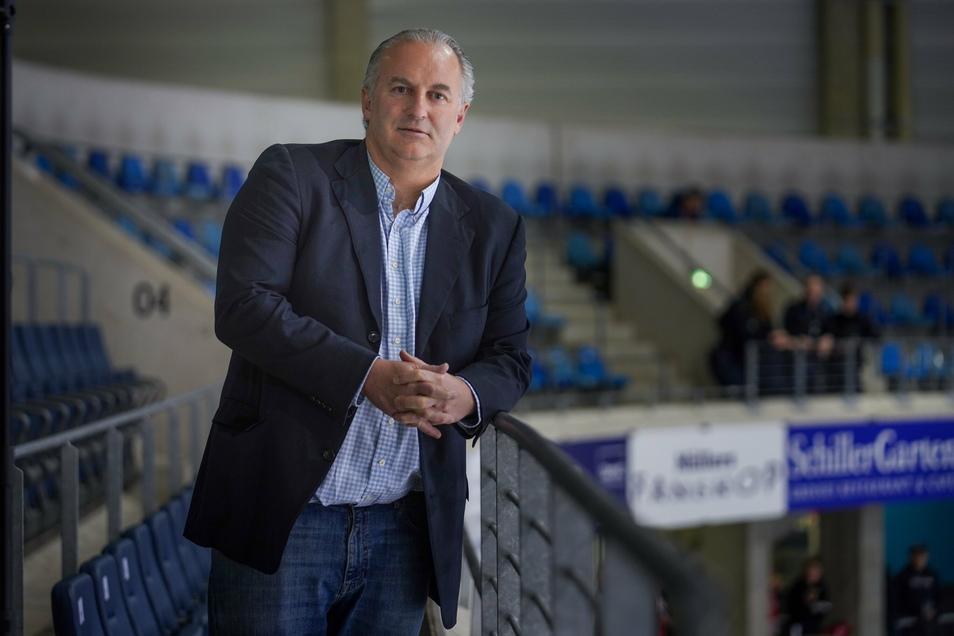 Marco Stichnoth ist seit Dezember 2019 sportlicher Berater der Eislöwen. Er hat die Mannschaft zusammengestellt und bezieht nun Stellung in der Krise.