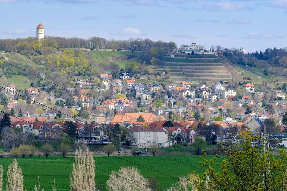 Radebeul nimmt nach wie vor eine Sonderstellung ein - exponierte Lagen sind fast doppelt so teuer wie im ländlichen Kreisgebiet.