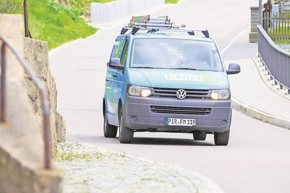 In Sobrigau wurde die Tempo-30-Zone bereits aufgehoben.