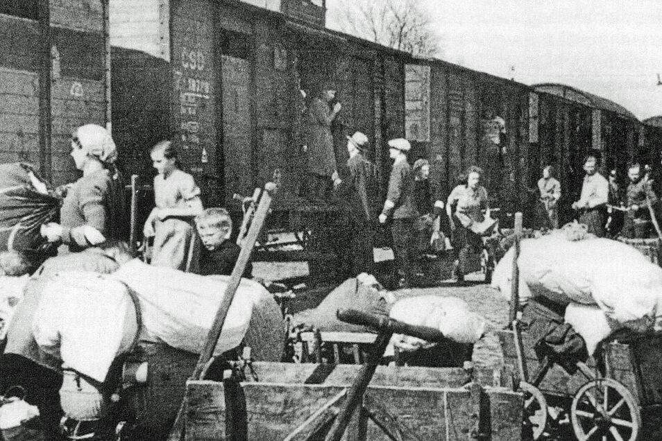 Auch Schlesier wurden aus ihrer Heimat vertrieben. Aus dem Kreis Guhrau kamen besonders viele Flüchtlinge in der Großenhainer Pflege an.