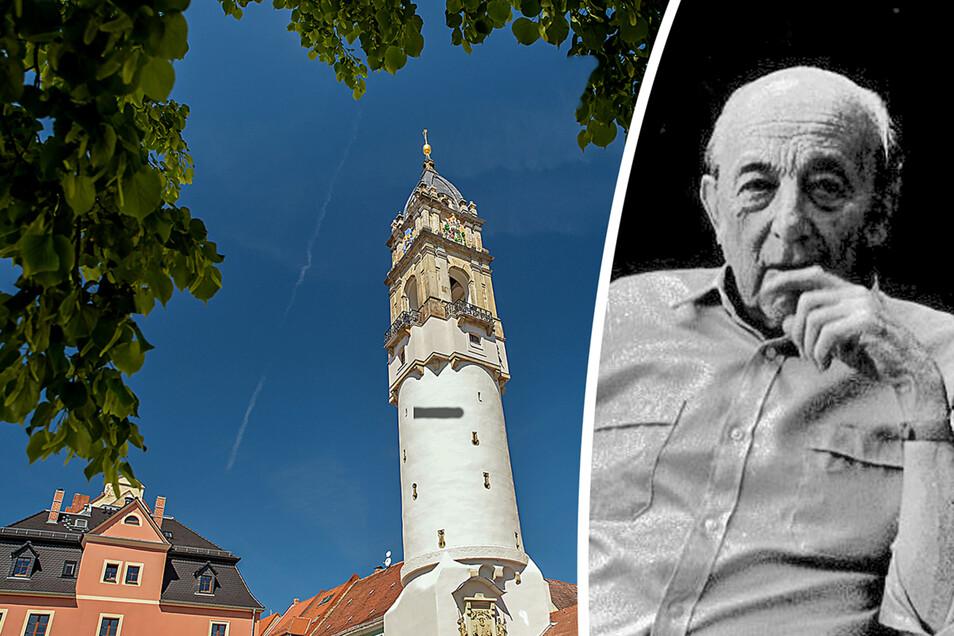 Die Rettung des Reichenturms in Bautzen ist eng mit dem Namen Hentschke-Bau verbunden.