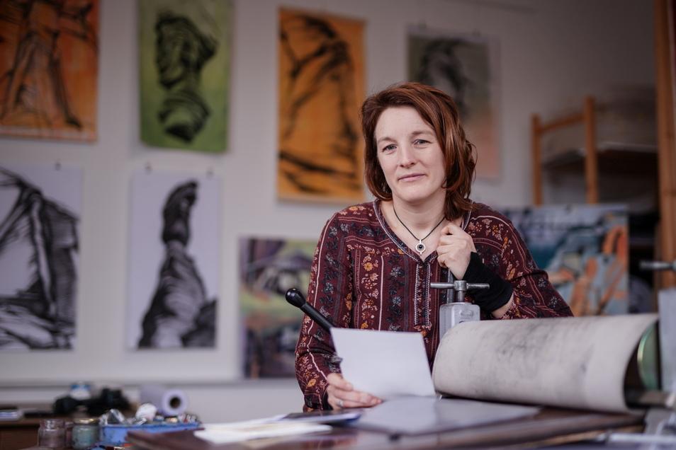 Anne Kern, Künstlerin aus Stadt Wehlen.